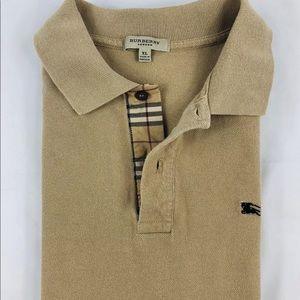 9a5fa0239ec1 Burberry Shirts   Brit Nova Check Mauve Polo Shirt Mens L   Poshmark